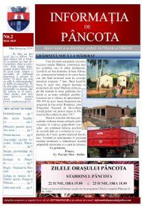 Informația de Pâncota - ed. 2 - mai 2019
