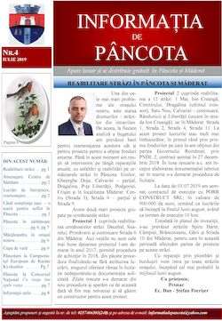 Informația de Pâncota - ed. 4 - iulie 2019
