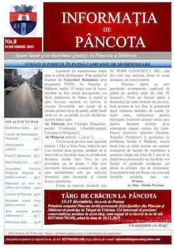 Informația de Pancota - ed.8 - noiembrie 2019
