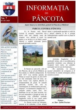 Informația de Pâncota - ediția iulie 2020